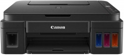 Canon Pixma G2012 All-in-One Ink Tank Colour Printer (Black)